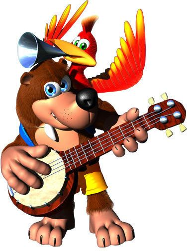 Image result for banjo and kazooie transparent background