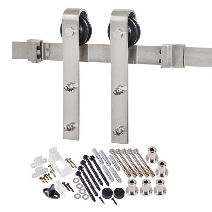 bent strap sliding barn door hardware  sc 1 st  Bertec Medical & Pocket Door Hardware Kit. Full Size Of Doorpocket Door Repair ... pezcame.com