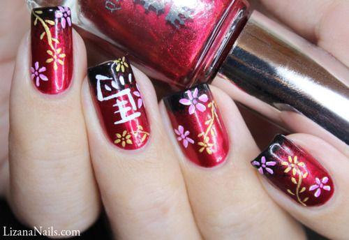 Nail Art – Nouvel an Chinois | Lizana