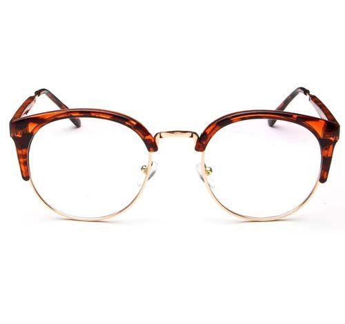 Cupshe Mix Color Semi-rimless Glasses