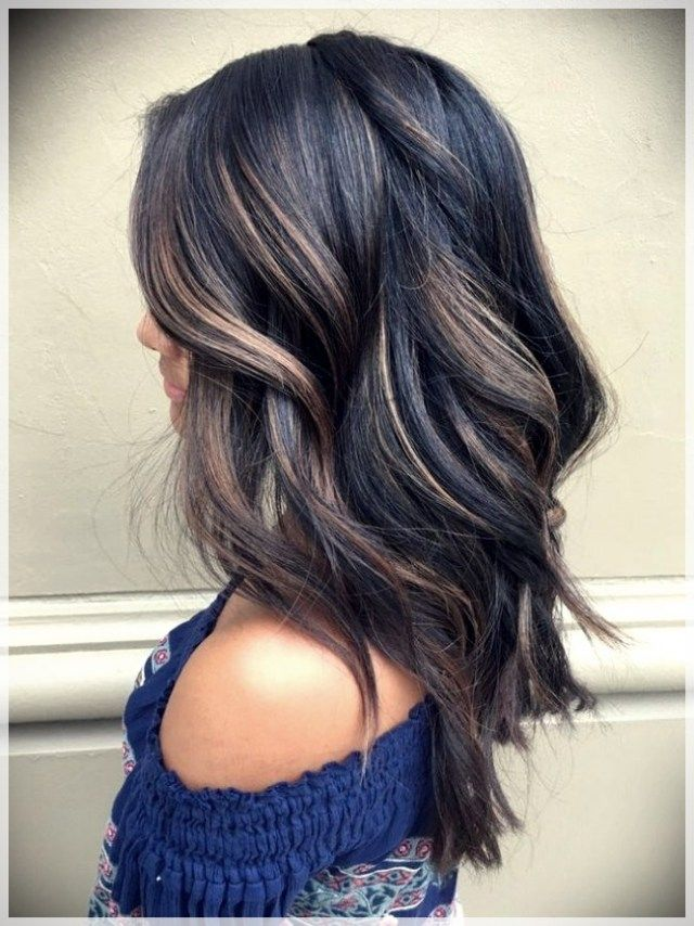 Balayage Wicks 2019 In Brunettes 2019balayagetrends Balayage Balayage2019 Hair Styles Hair Color Dark Balayage Hair Dark