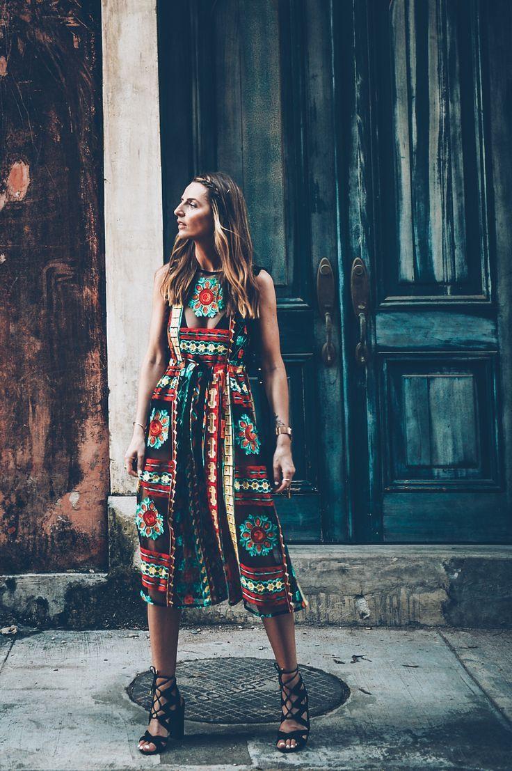 Great pattern dress