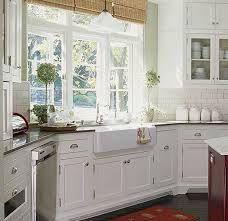 white cottage kitchen ideas - Google Search