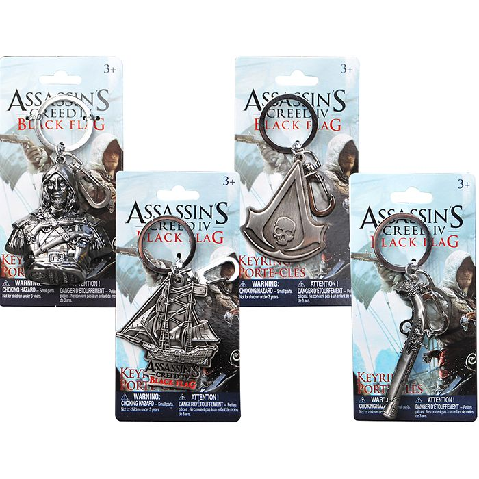 Assassin's Creed Black Flag keychains