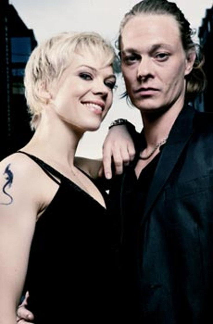 "Ane Dahl Torp and Kristoffer Joner. Norwegian actress and actor together for the TV-series called ""Kodenavn Hunter"". Foto: Fredrik Arff"