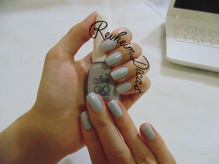 Colorama, Preguiçando, Coleção Gio Antonelli, Esmalte, Unhas, Unha da semana, Unhas de diva, 5 free, Giovanna Antonelli.  #colorama #nails #blog #preguiçando #nailpolish #esmalte #unhadasemana #gioanto #fashion #beauty #esmaltar #hands #moda #unhasdodia #manicure #nailart #fashionblogger