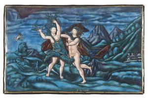 Apollon et Daphné | Centre de documentation des musées - Les Arts Décoratifs