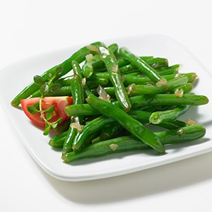 Quick Pan Roasted Green Beans | Healthier Side Dishes | Pinterest ...