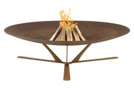 Discolo Fire Pit  Contemporary, Industrial, Rustic  Folk, Transitional, MidCentury  Modern, Traditional, Art Deco, Organic, Metal, Fireplace Mantels  Accessory by Design Collectif