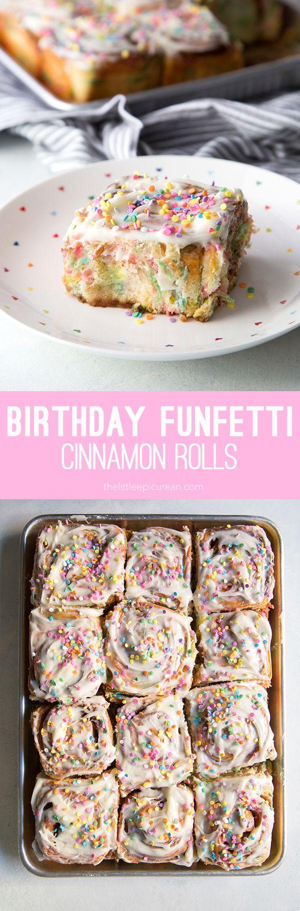 Funfetti Cinnamon Rolls                                                                                                                                                                                 More