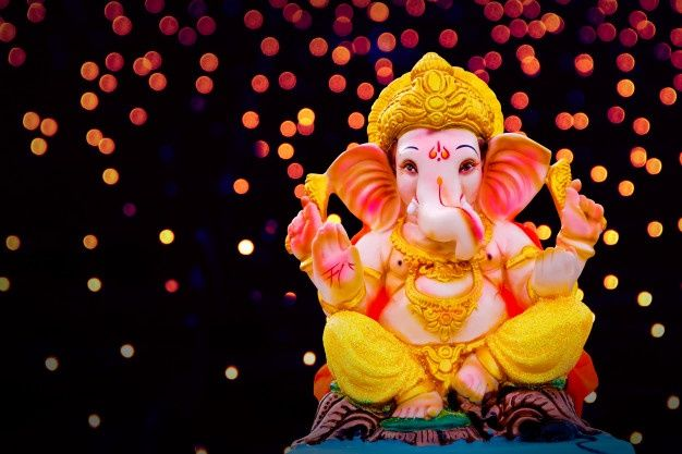 Free Download God Ganesh Hd Wallpaper Which Is Supported By Desktop Laptop Mobile Screen Lord Ganesh Is In Dancing P In 2021 Ganesha Pictures Ganesh Images Ganesha