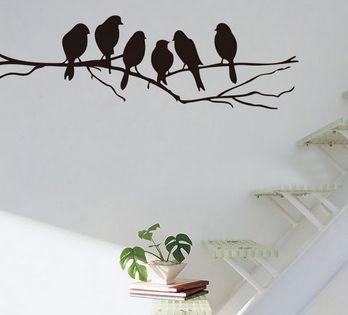 Wall Sticker - Birds on a Branch