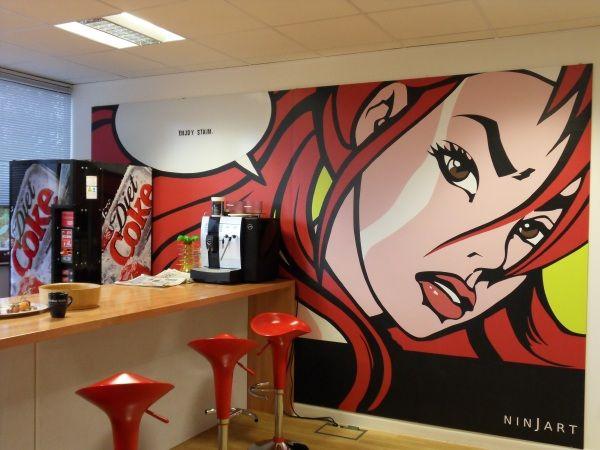 pop art wall & 118 best Pop art Wall murals images on Pinterest | Art walls Murals ...
