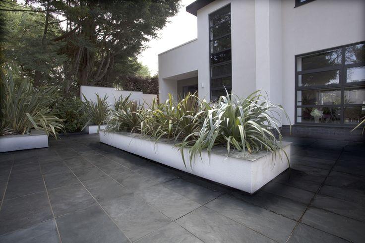 Brazilian Grey Natural Slate Paving Slabs 600x300x20-30  http://www.mrs-stone-store.com/product/?stone=SLP011+brazilian+grey+natural+slate+paving+slabs+600x300x20-30