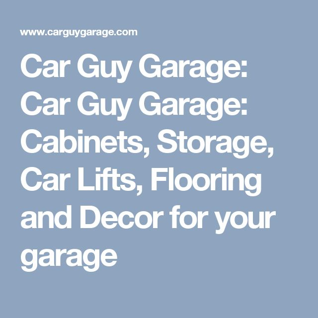 1000 Ideas About Underground Garage On Pinterest: 1000+ Ideas About Garage Car Lift On Pinterest