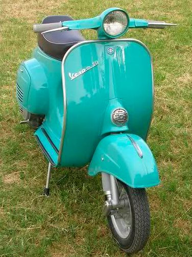 Turchese 240 Vespa Farben Originallack Max Meyer