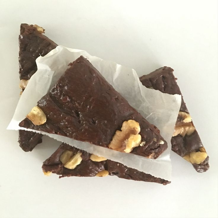 Little triangles of Grace brownie goodness