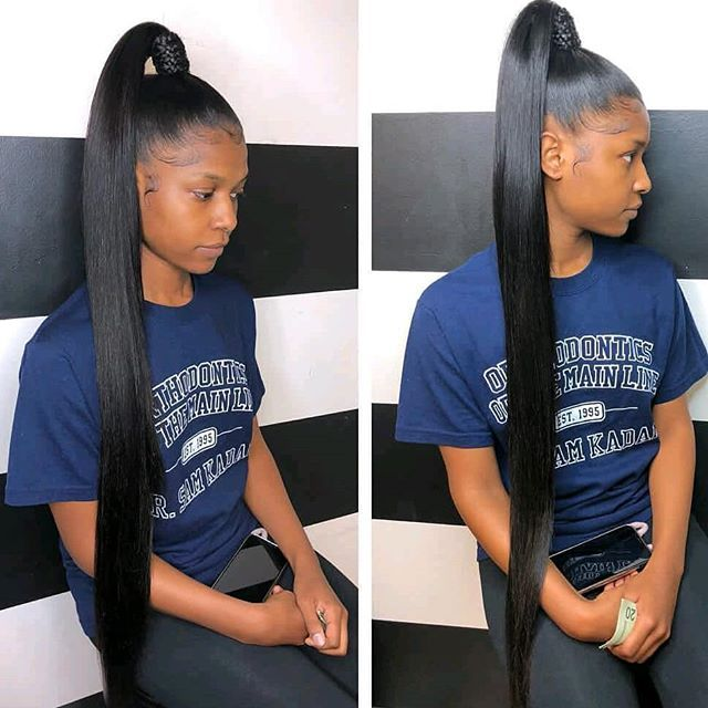 Omg I Love This Bellasartofstyling Ponytail Straight Long