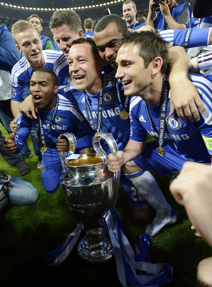 chelseaaa doeee! dont mess with my boys, champs of europe!