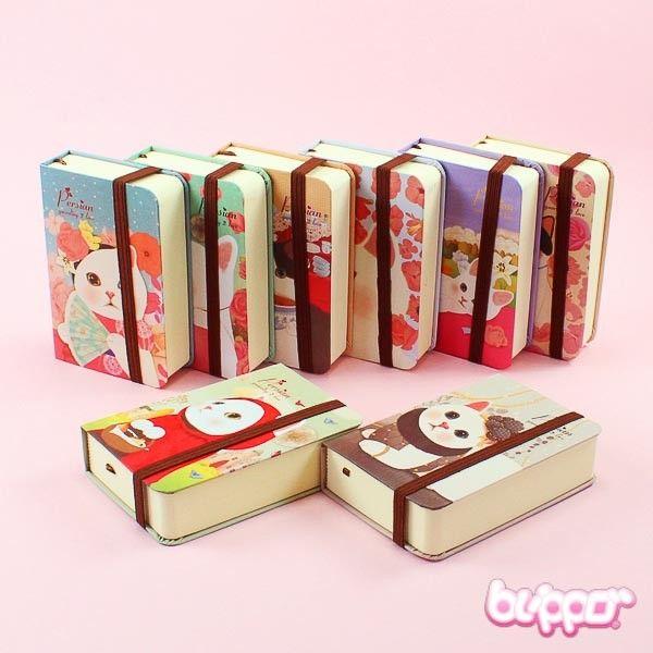 Persian Cat notebook (small) - Stationery | Blippo.com - Japan & Kawaii Shop