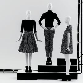 Our fashion mannequins are a great solution for the shops and designers, which want to create stylish displays in their windows. It's a fantastic way to create a good example of visual merchandisi