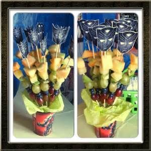 Food Fruit KabobsTransformer BirthdayIdea