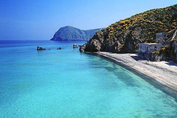 spiaggia bianca #lipari