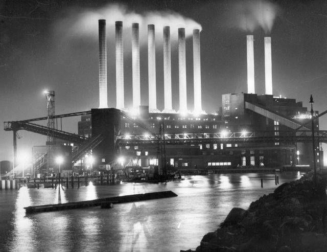 Seven X Motors >> Vintage Detroit   Edison Power Plant. (via The ...