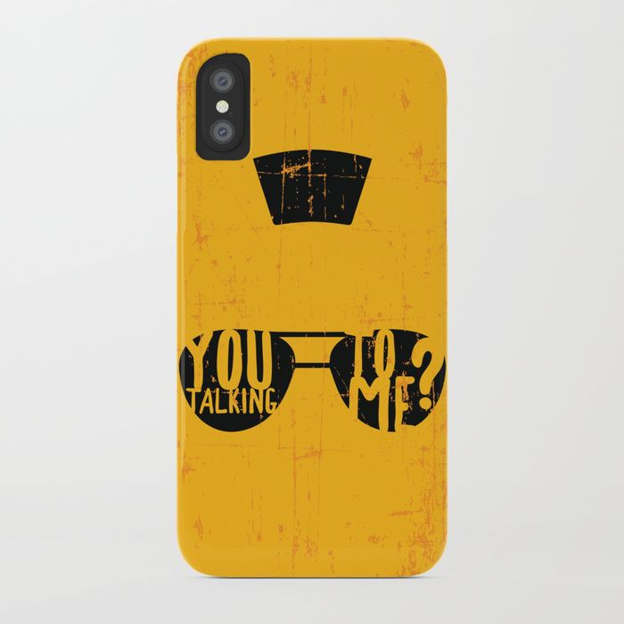 Iphone Case Movie Quote From Taxi Driver You Talking To Me