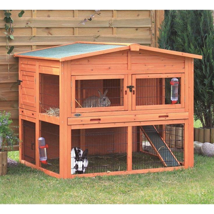 die besten 25 kaninchenstall ideen auf pinterest hasengehege kaninchenstall drau en und. Black Bedroom Furniture Sets. Home Design Ideas