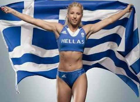 """Greece's triple-jump champion Voula Papachristou has been removed from the 2012 Summer Olympic Games in London after posting a racially-insensitive tweet on July 22. She tweets (translated from Greek to English), """"With so many Africans in Greece .. At least the mosquitoes of West Nile .. will eat homemade food!"""""""