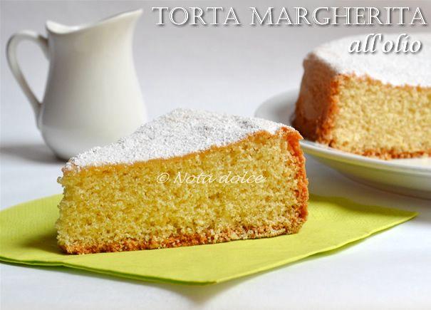 Torta margherita all'olio, ricetta senza burro La torta margherita all'olio è una variante della torta margherita classica. Tale versione classica è caratt