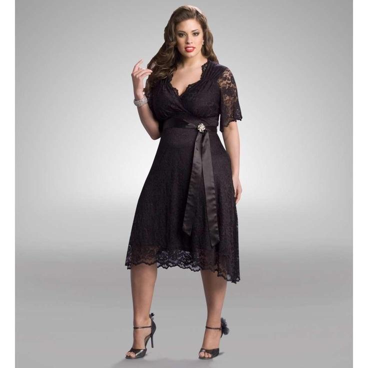 Elegantes vestidos de encaje para gorditas 2012  http://vestidoparafiesta.com/elegantes-vestidos-de-encaje-para-gorditas-2012/: Black Lace, Fashion, Cocktails Dresses, Style, Clothing, Bridesmaid Dresses, Plus Size Dresses, Little Black Dresses, Lace Dresses