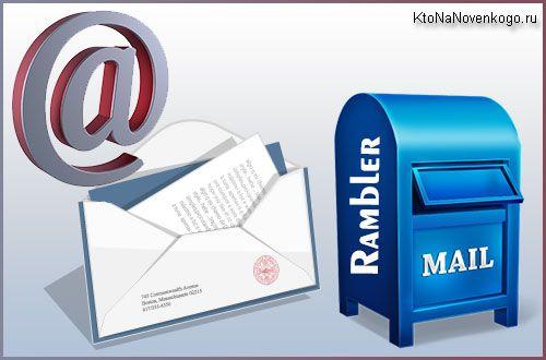 Рамблер почта (вход, настройка, работа с входящими) и ее место среди других сервисов бесплатных электронных ящиков | KtoNaNovenkogo.ru - создание, продвижение и заработок на сайте