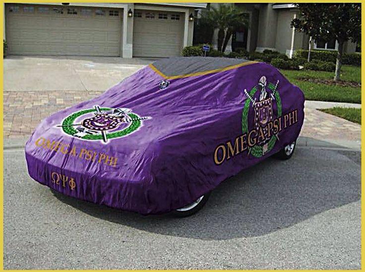 Omega Psi Phi car Cover