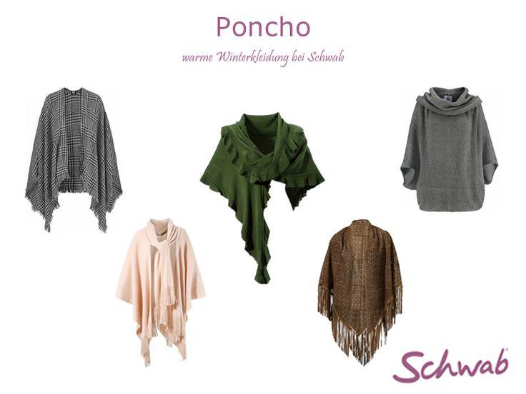 Ein warmer #Poncho für besonders kalte Wintertage