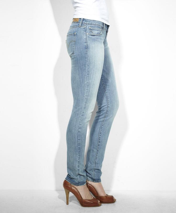 levi 39 s modern rise demi curve skinny jeans glory blues. Black Bedroom Furniture Sets. Home Design Ideas