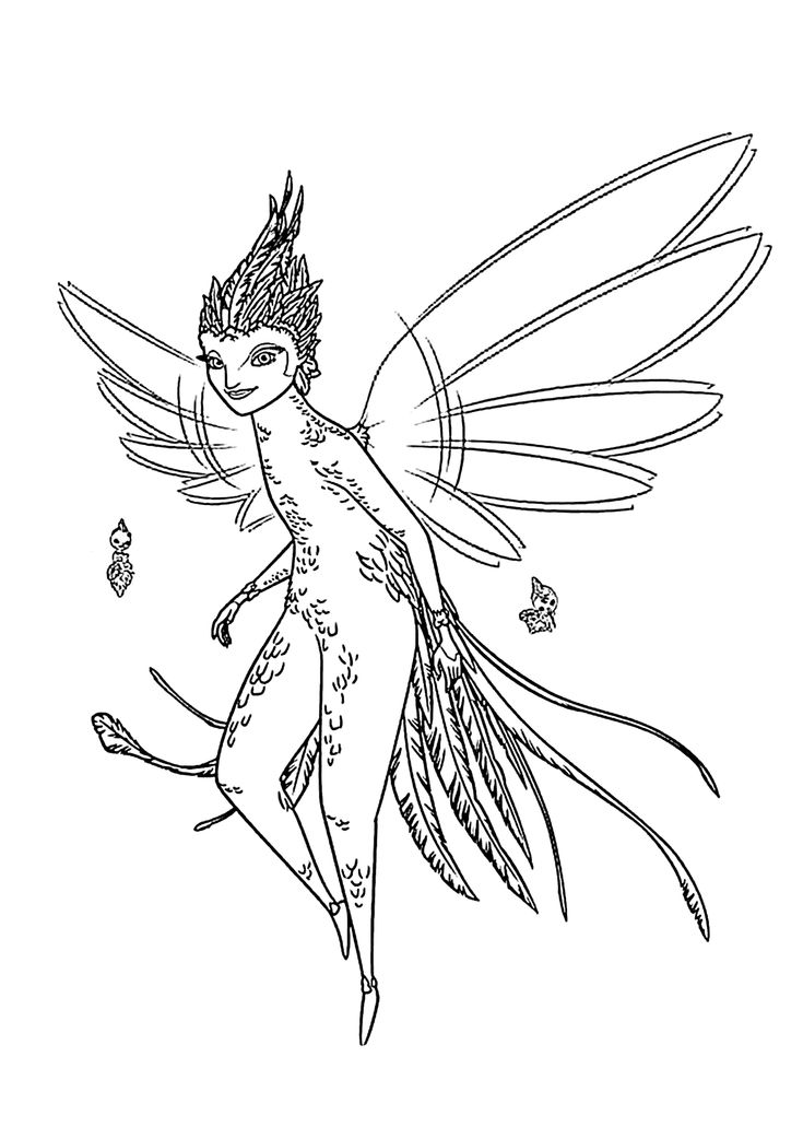Rise Of The Guardians Coloring Pages Baby Tooth