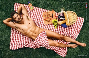 "The Kraft Zesty Italian dressing ad is controversial -- but certainly ""interesting."" ;)"