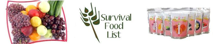 Survival Food Lists: Emergency Preparedness Made Easy