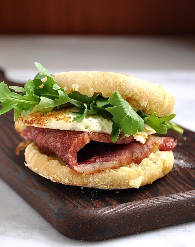 ... Sandwich with Bacon Fried Egg and Cheddar | Recipe | Bacon, Fried eggs