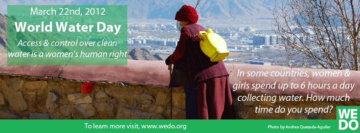 On World Water Day 2012, use your Facebook timeline to help raise awareness on women's rights and the right to water for all. Grab one of our Facebook covers here!