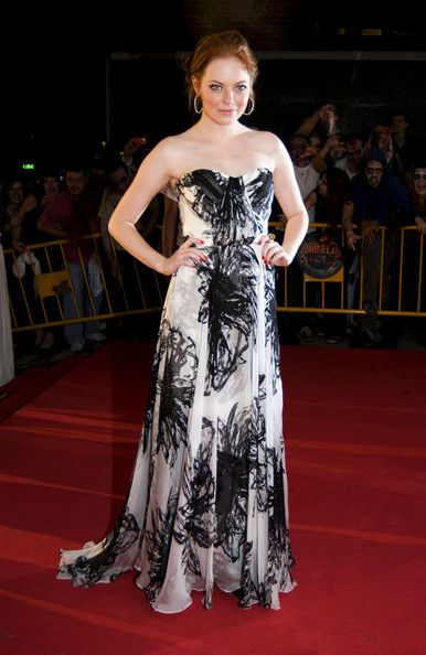Emma Stone at the  Premiere for 'Zombieland' at the 42nd #Sitges Film Festival . (October 12, 2009 - Photo Bauer Griffin) #Catalonia