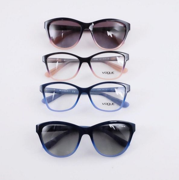 Which will you choose?! Vogue Eye Wear makes it hard to decide! #YYC #YYCLiving #YYCEarWear
