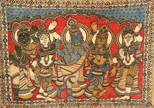 Kalamkari Painting – Desically Ethnic  #Kalamkari #Painting #desi #ethnic #desicallyethnic #shopnow #onlineshopping #homedecor #wallart #homeandliving #indian #indianproducts