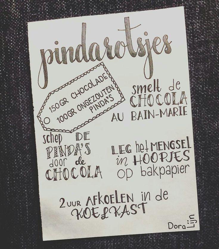 Recept voor pindarotsjes