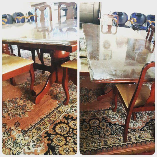 For Sale Wood Dining Table For 6 Person Price 55 Bd للبيع طاولة طعام خشب لون بني بحالة ممتازة السعر 55 Bd Tel 33770050 Decor Home Decor Home