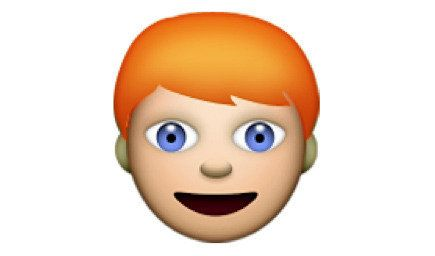 If you want to have a redhead emoji, sign this petition