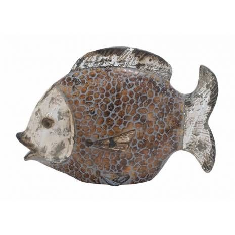 Ceramic Fish Statue Urban Decor An artistic and attractive showpiece is an important accessory for each and every home. This lovely Ceramic Fish with Stylish Design and Urban Look will be a nice addition to your decorative and contemporary ornamented living room. Crafted from high quality ceramic material gives it a striking and urban look.