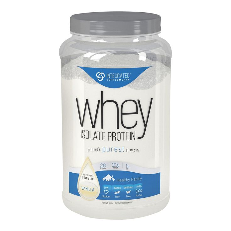 At every stage of life, protein requirements change. We created the only ready-to-mix protein powder that meets those needs no matter who you are. Kids welcome. We designed the packaging of our Whey Isolate Protein to fit perfectly into your everyday life. With 25% less material than the industry standard 1 gallon jar, gone are the days of bulky, oversized containers that only fit on the top of bottom shelf of your pantry. <br> With a clear, 100% recyclable PET jar, you'll never won...
